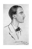 HV (Henry Vollam) Morton in 1926, English Journalist and Pioneering Travel Writer Giclee Print by Rudolf Eichstaedt