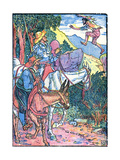Don Quixote of the Mancha Giclee Print by Walter Crane