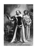 King Richard II (Act IV Scene 1), Play by William Shakespeare Giclee Print by Rudolf Eichstaedt