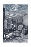 Charles Dickens Novel Bleak House - The Death of Mr Giclee Print by Rudolf Eichstaedt