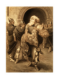 King Lear (Act V Scene 3) Play by William Shakespeare Giclee Print by Rudolf Eichstaedt