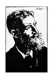 George Bernard Shaw - Irish Playwright: 26 July 1856–2 November 1950 Giclee Print by Joseph Simpson