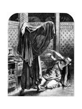 The Veiled Prophet of Khorassan' - Illustration from the Book Lalla Rookh by Thomas Moore Giclee Print by John Tenniel