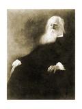 Whitman, Walt Portrait by J.W.Alexander Giclee Print by John White Alexander