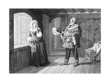 Merry Wives of Windsor (Act III Scene 3), Play by William Shakespeare Giclee Print by Rudolf Eichstaedt