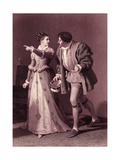 Much Ado About Nothing (Act IV Scene 1), Play by William Shakespeare Giclee Print by Rudolf Eichstaedt