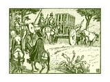 Don Quixote of the Mancha Giclee Print by Walter Crane
