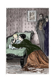 Anthony Trollope's Novel 'He Knew He Was Right' - Captioned 'You Haven't Forgotten Mamma' Giclee Print by Marcus Stone