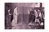 The Winters Tale  (Act V. Scene III) Giclee Print by Rudolf Eichstaedt