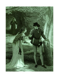 The Tempest (Act III, Scene I) Giclee Print by Rudolf Eichstaedt