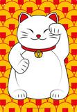 Lucky Cat Blechschild