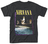 Nirvana- Stage Jump T-shirts