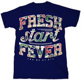 You Me At Six- Fresh Start Fever Floral Logo Magliette