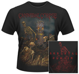 Cannibal Corpse- A Skeletal Domain Art (Front/Back) T-Shirts