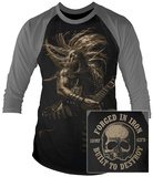 Longsleeve ShirtBlack Label Society- Forged In Iron (Front/Back Raglan) T-Shirts