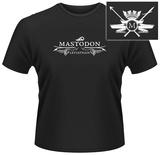 Mastodon- Leviathan Coat of Arms (Front/Back) T-shirts