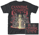 Cannibal Corpse- Skelatal Baptism (Front/Back) T-Shirts