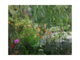 Monet's Pond at Giverny Premium Giclee Print by Sarah Butcher