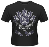 The Who- Pinball Wizard Emblem T-shirts