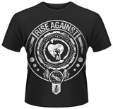 Rise Against- Bombs Away Medal T-Shirt
