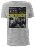 Nirvana- Bleach Band Cassette T-Shirts