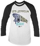Longsleeve ShirtLed Zeppelin- Physical Graffiti 40th Aniiversary (Raglan) Shirts