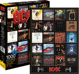 AC/DC - Discography 1,000 Piece Puzzle Jigsaw Puzzle
