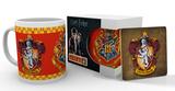 Harry Potter- Gryffindor Mug and Coaster Set Mug
