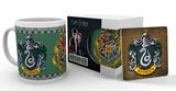 Harry Potter- Slytherin Mug and Coaster Set Mok