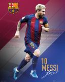 Barcelona- Messi 16/17 Affiche
