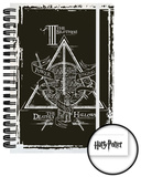 Harry Potter- Deathly Hallows A5 Notebook Lommebog