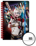 Suicide Squad- Harley Quinn Good Night A5 Notebook Journal