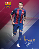 Barcelona- Neymar 16/17 Poster