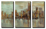 Misty Day in Manhattan Prints by Silvia Vassileva