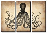 Vintage Octopus Posters by  NaxArt