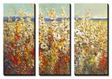 Field of Spring Flowers II Art by Tim O'toole