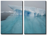 Blue Ice on the Antarctic Peninsula on the Edge of Antarctic Sound Poster by Joel Sartore