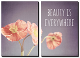 Beauty Is Everywhere Poster by Susannah Tucker