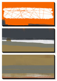 Abstract Orange 1 Prints by  NaxArt