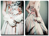 Demure Young Woman in a Period Costume Posters by  RedHeadPictures