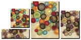 Colorful Whimsy - Circles Print by Jeni Lee