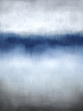 Linear Blue Horizon Giclee Print by Kari Taylor
