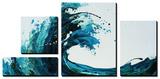 Seafoam Wave Prints by Sydney Edmunds
