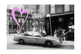Luv Collection - New York City - NY Cafe Giclee Print by Philippe Hugonnard