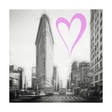 Luv Collection - New York City - Flatiron Building II Giclee Print by Philippe Hugonnard