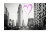 Luv Collection - New York City - Flatiron Building Giclee Print by Philippe Hugonnard