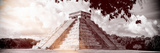 ¡Viva Mexico! Panoramic Collection - El Castillo Pyramid in Chichen Itza IX Lámina fotográfica por Philippe Hugonnard