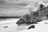 ¡Viva Mexico! B&W Collection - Caribbean Beach Photographic Print by Philippe Hugonnard