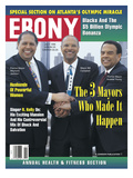 Andrew Young, Maynard Jackson, Bill Campbell, Ebony Magazine, July 1996, Photographic Print