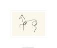 Kůň Sítotisk od Pablo Picasso